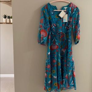 Boden dress, new with tags, floral print